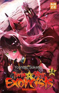 Twin star exorcists T14, manga chez Kazé manga de Sukeno