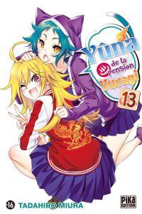Yûna de la pension Yuragi T13, manga chez Pika de Miura