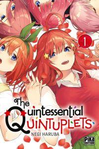 The quintessential quintuplets T1, manga chez Pika de Haruba