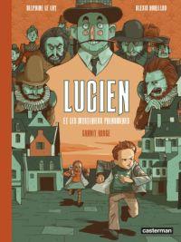 Lucien et les mystérieux phénomènes T2 : Granit rouge (0), bd chez Casterman de Horellou, le Lay
