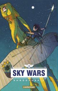 Sky wars T4, manga chez Casterman de Dongshik