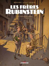 Les Frères Rubinstein T2 : Le coiffeur de Sobibor (0), bd chez Delcourt de Brunschwig, Chevallier, Le  Roux, de Cock