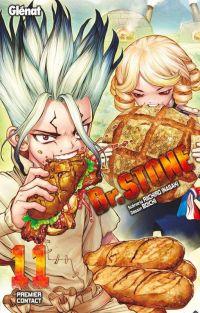 Dr Stone T11, manga chez Glénat de Inagaki, Boichi