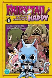 Fairy tail - La grande aventure de Happy  T5, manga chez Nobi Nobi! de Sakamoto
