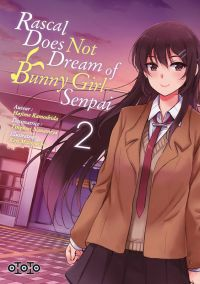 Rascal does not dream of bunny girl senpai T2, manga chez Ototo de Kamoshida, Nanamiya