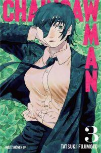 Chainsaw man T3, manga chez Kazé manga de Fujimoto