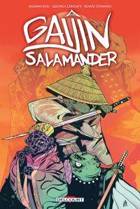 Gaijin Salamander, comics chez Delcourt de Rosi, Renato, Ceregatti