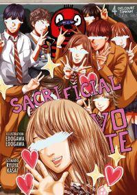 Sacrificial vote T4, manga chez Delcourt Tonkam de Kasai, Edogawa