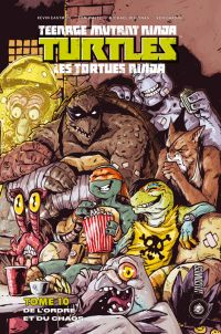 Les Tortues Ninja - TMNT - Teenage Mutant Ninja Turtles T10 : De l'ordre et du chaos (0), comics chez Hi Comics de Curnow, Eastman, Waltz, Dialynas, Garing, Pattison