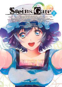 Steins;gate T2, manga chez Mana Books de Sarachi