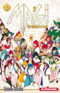 Magi, the labyrinth of magic  T37, manga chez Kurokawa de Ohtaka