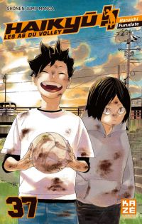 Haikyû, les as du volley T37, manga chez Kazé manga de Furudate