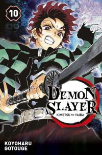 Demon slayer T10, manga chez Panini Comics de Gotouge