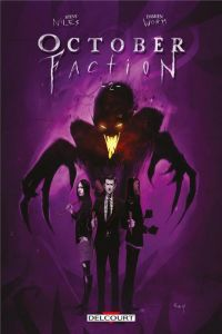 October faction T2, comics chez Delcourt de Niles, Worm
