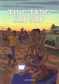 Ting tang sap sap, bd chez La boîte à bulles de Hermans, Vinck, Colon