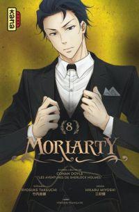Moriarty T8, manga chez Kana de Miyoshi, Doyle, Takeuchi