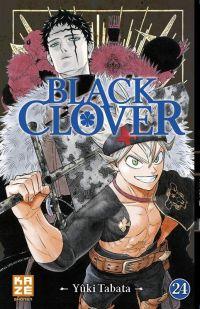 Black clover T24, manga chez Kazé manga de Tabata