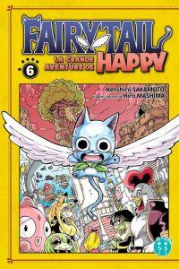 Fairy tail - La grande aventure de Happy  T6, manga chez Nobi Nobi! de Sakamoto