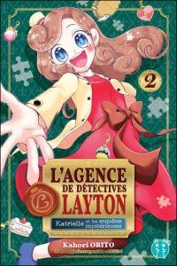 L'agence de détectives Layton  T2, manga chez Nobi Nobi! de Orito