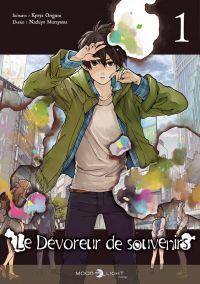 Le dévoreur de souvenirs T1, manga chez Delcourt Tonkam de Origami, Murayama