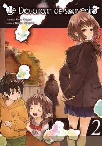 Le dévoreur de souvenirs T2, manga chez Delcourt Tonkam de Origami, Murayama