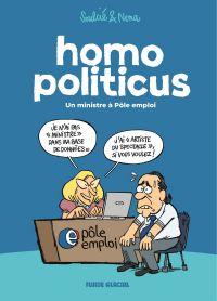 Homo politicus, bd chez Fluide Glacial de Soulcié, Nena