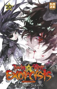 Twin star exorcists T20, manga chez Kazé manga de Sukeno