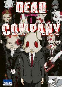 Dead company T1, manga chez Ki-oon de Tonogai