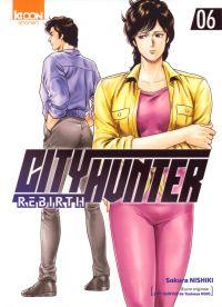 City Hunter rebirth T6, manga chez Ki-oon de Hôjô, Nishiki