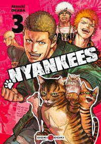Nyankees T3, manga chez Bamboo de Okada