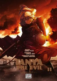 Tanya the evil T11, manga chez Delcourt Tonkam de Carlo, Tôjô