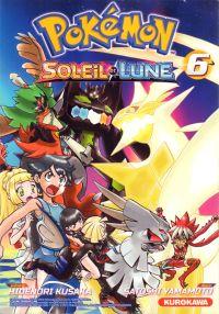 Pokémon Soleil et Lune T6, manga chez Kurokawa de Kusaka, Yamamoto