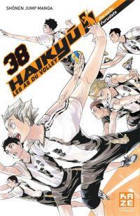 Haikyû, les as du volley T38, manga chez Kazé manga de Furudate