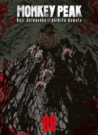 Monkey peak T9, manga chez Komikku éditions de Shinasaka, Kumeta