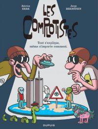 Les Complotistes, bd chez Dupuis de Bernstein, Erre