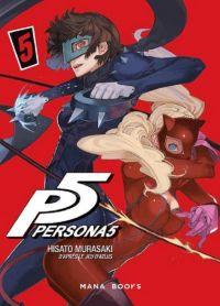 Persona 5 T5, manga chez Mana Books de Atlus, Murasaki