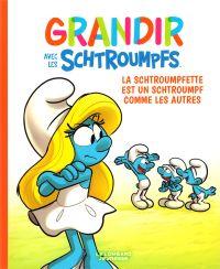 Grandir avec les Schtroumpfs T4 : La Schtroumpfette est un Schtroumpf comme les autres (0), bd chez Le Lombard de Falzar, Culliford, Dalena, Maddaleni