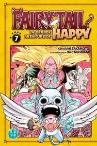Fairy tail - La grande aventure de Happy  T7, manga chez Nobi Nobi! de Sakamoto