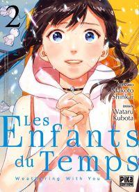 Les enfants du temps T2, manga chez Pika de Shinkai