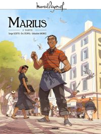 Marius T2, bd chez Bamboo de Stoffel, Scotto, Morice