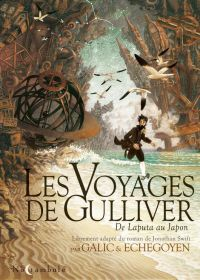 Les Voyages de Gulliver T1 : De Laputa au Japon (0), bd chez Soleil de Galic, Echegoyen