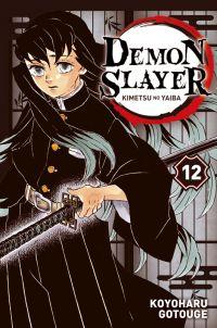 Demon slayer T12, manga chez Panini Comics de Gotouge