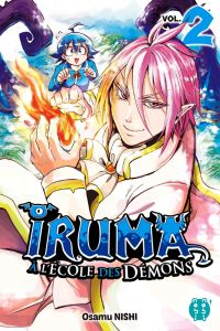 Iruma à l'école des démons T2, manga chez Nobi Nobi! de Nishi