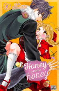 Honey come honey T6, manga chez Delcourt Tonkam de Shiraishi