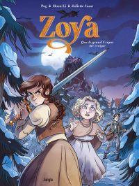 Zoya T1 : Que le grand Crique me croque (0), bd chez Jungle de Pog, Li, Vaast
