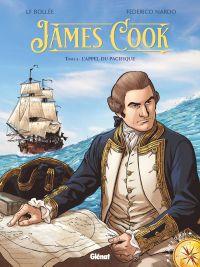 James Cook T1 : L'appel du Pacifique (0), bd chez Glénat de Bollée, Nardo, Battistuta
