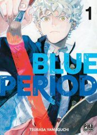 Blue period T1, manga chez Pika de Yamaguchi