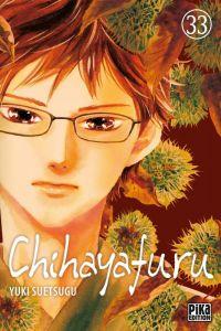 Chihayafuru T33, manga chez Pika de Suetsugu