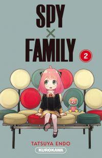 Spy X family T2, manga chez Kurokawa de Endo