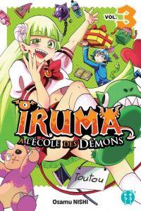 Iruma à l'école des démons T3, manga chez Nobi Nobi! de Nishi